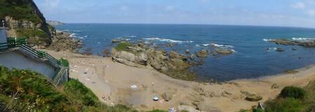 playa-de-estano-gijon-asturias beach