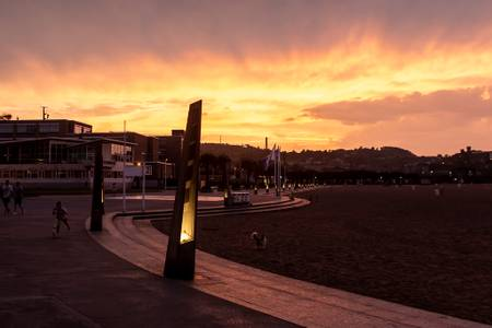 playa-de-l'arbeyal-gijon-asturias beach
