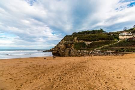 playa-de-la-nora-gijon-asturias beach