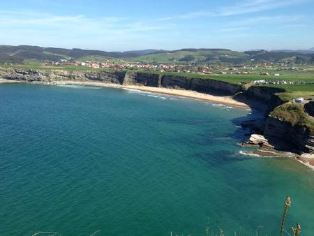 playa-de-langre-peque%C3%B1a-loredo-ribamont%C3%A1n-al-mar-cantabria beach