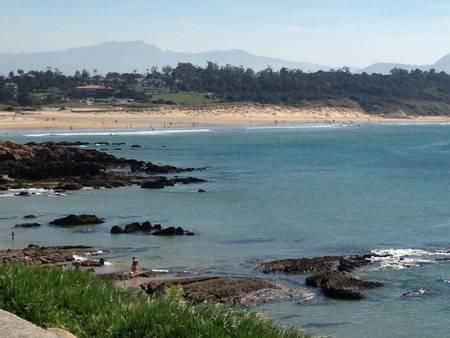 playa-de-los-tranquilos-loredo-ribamontan-al-mar-cantabria beach