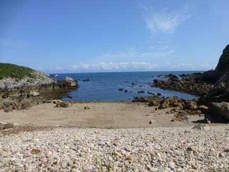 playa-de-moniello-luanco-asturias beach