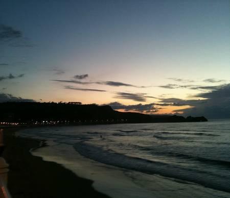 playa-de-salinas-luarca-asturias beach