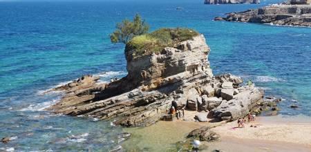 playa-del-camello-santander-cantabria beach