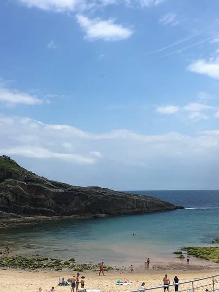 playa-del-sablon-llanes-asturias beach