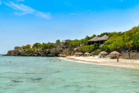 playa-kalki-sabana-westpunt-curacao beach