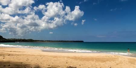 playa-moron-el-limon-samana-province beach