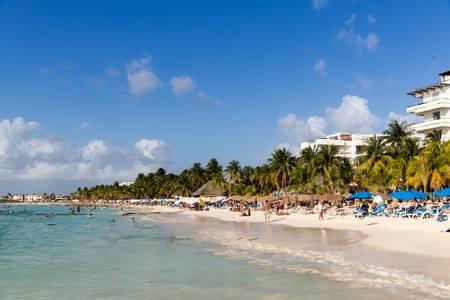 playa-norte-isla-mujeres beach