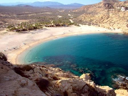 playa-santa-maria-el-tule-baja-california-sur beach