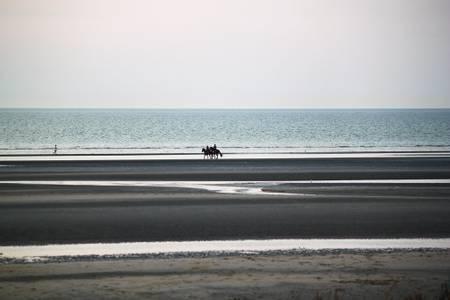 plage-de-bray-dunes-de-panne beach