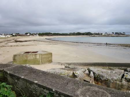 plage-de-l'anse-du-stole-ploemeur-brittany beach