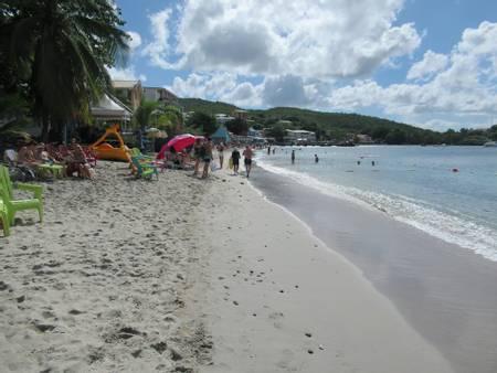 plage-de-l'anse-mitan-les-trois-ilets-le-marin beach