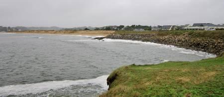 plage-de-la-falaise-guidel-brittany beach