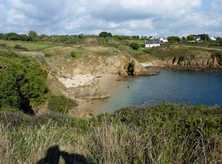 plage-de-la-roche-percee-clohars-carnoet-brittany beach