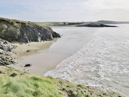 plage-de-sainte-anne-la-palud-plonevez-porzay-brittany beach