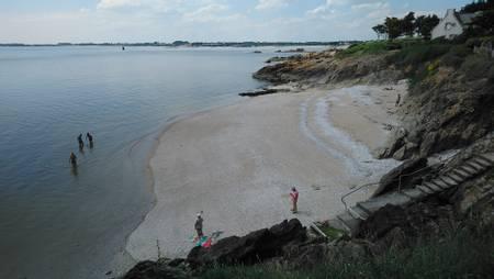 plage-des-amoureux-billiers-brittany beach
