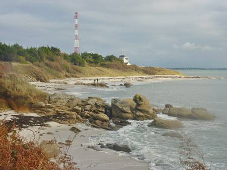plage-des-dunes-fouesnant-brittany beach