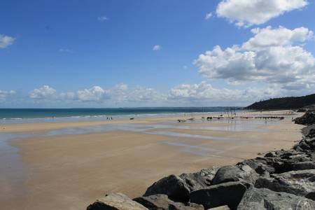 plage-des-rosaires-plerin beach