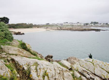 plage-du-perello-ploemeur-brittany beach