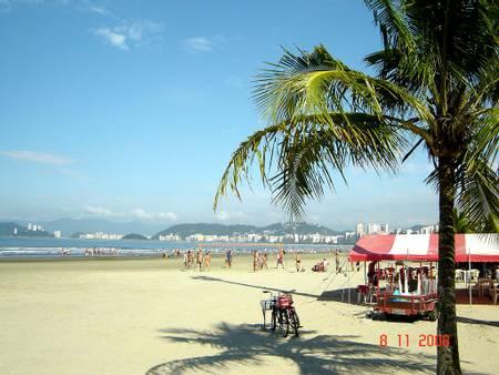 praia-da-aparecida-santos-sao-paulo beach