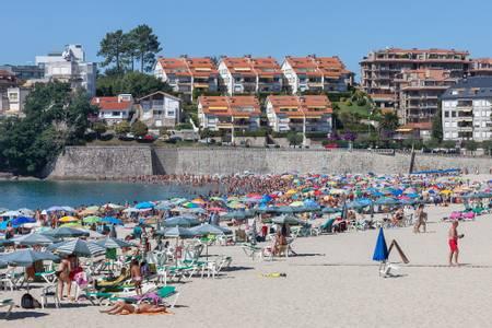 praia-de-silgar-sanxenxo-galicia beach