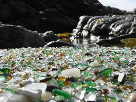 praia-dos-cristais-laxe-galicia beach