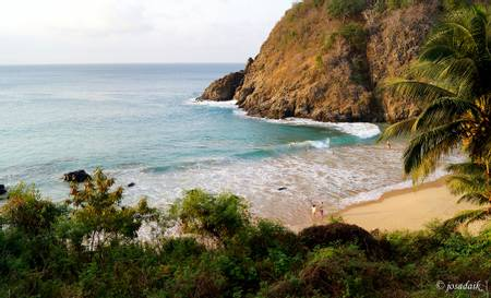 praia-do-cachorro-fernando-de-noronha-pernambuco beach