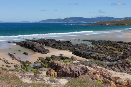 praia-do-rio-lavacerido-galicia beach
