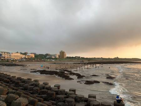qianshuiwan-seaside-park-new-taipei-city beach