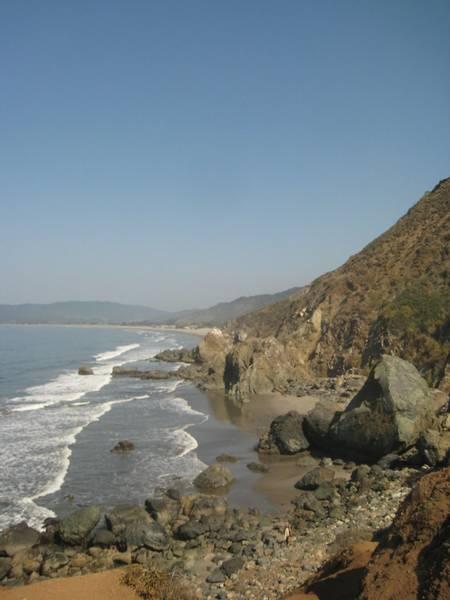 red-rock-beach-stinson-beach-california beach