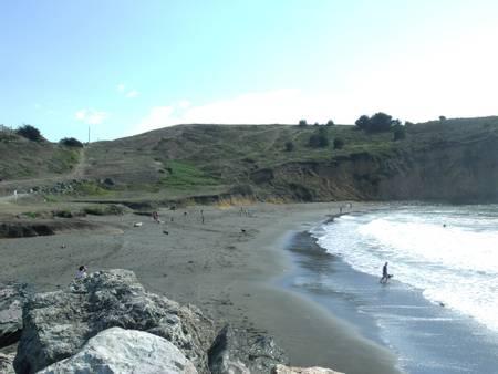 rockaway-beach-pacifica-california beach