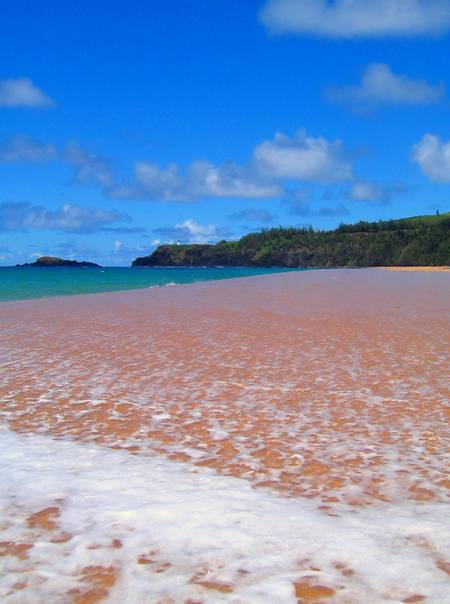 secret-beach-kalihiwai-hawaii beach