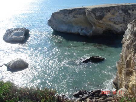 shell-beach-sea-ranch-california beach