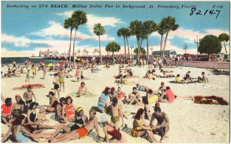 spa-beach-st.-petersburg-florida beach