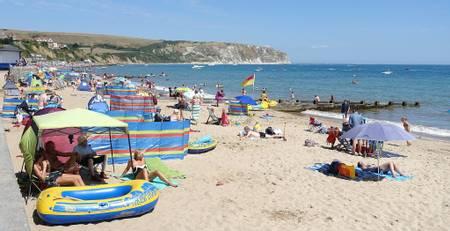 swanage-beach-studland-england beach