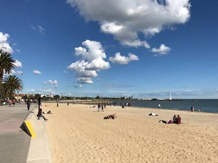 st-kilda-beach-melbourne-victoria beach