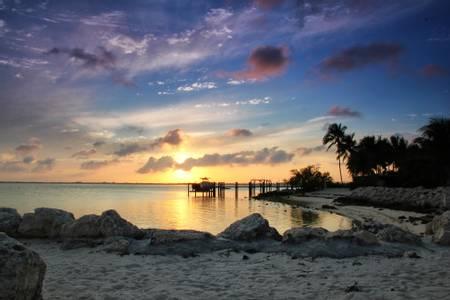 sunset-beach-key-colony-beach-florida beach